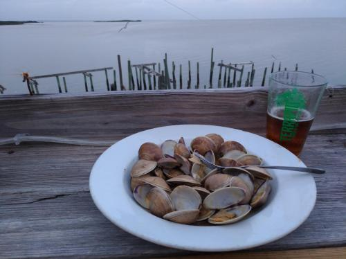 Clams, Beer and a View in Cedar Key